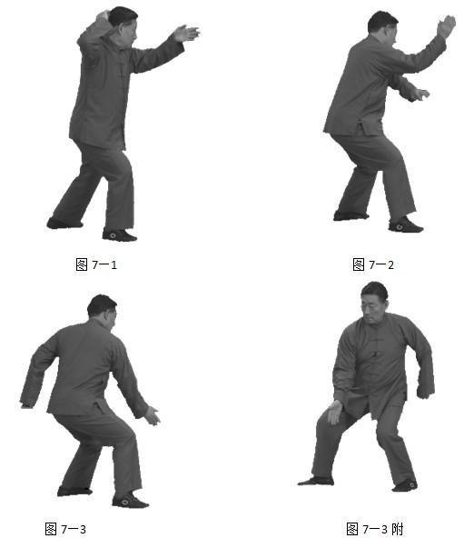 陈小旺九太极拳法教程,详细招式分析动作图示,简单易学.图片