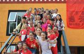《出彩中国人》武艺班的孩子们搬进新教学楼