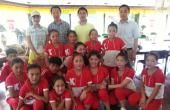 金盾控股为藏族孤儿捐赠灭火器材
