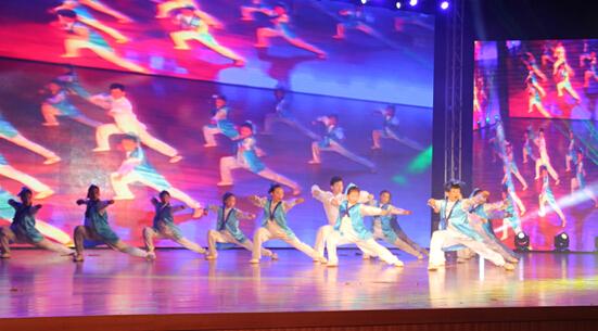武艺班受邀参加绿卡凯尔成立十周年大型演出