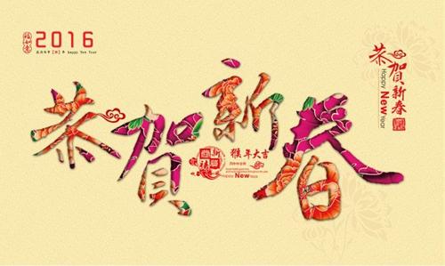 2016伍福网CEO恭贺新春 ——圆梦一五,卓越一六