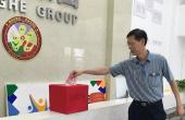贵人柜员工积极开展抗洪救灾捐款活动