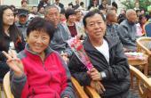 妈妈爸爸在伍福安养中心的快乐生活