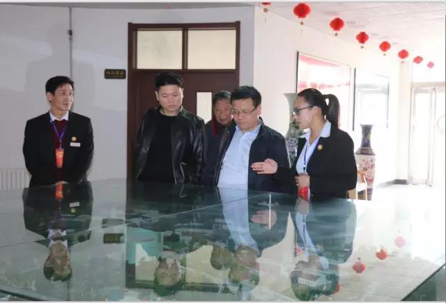 中国健康养老产业联盟秘书长蒋洪卫莅临中奥伍福安养中心