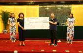 中奥伍福集团向华夏中医药发展基金会捐款