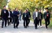 宋董事长及中房集团领导莅临安养中心指导工作 规划蓝图